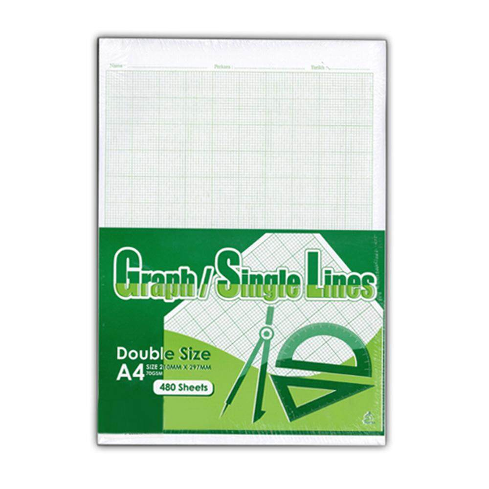 Science Graph Paper A4 480 sheets