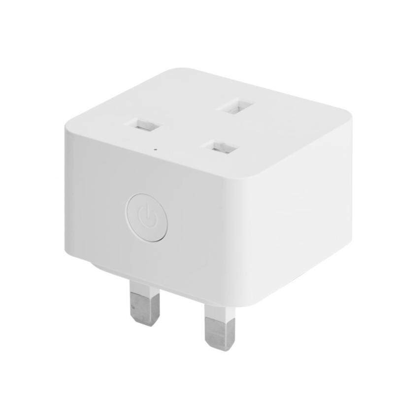 Justgogo Wifi Power Socket Mini Socket Outlet Wifi Smart Plug Works for Alexa / Google Home WIFI UK