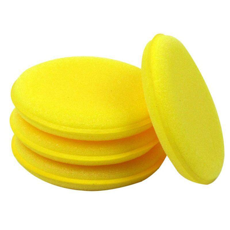 12 Pcs Waxing Wax Sponge Super Fine Applicator Pads Special For Car Automotive Care Supplies Car Vehicle Glass Cleaning By Yomichew.