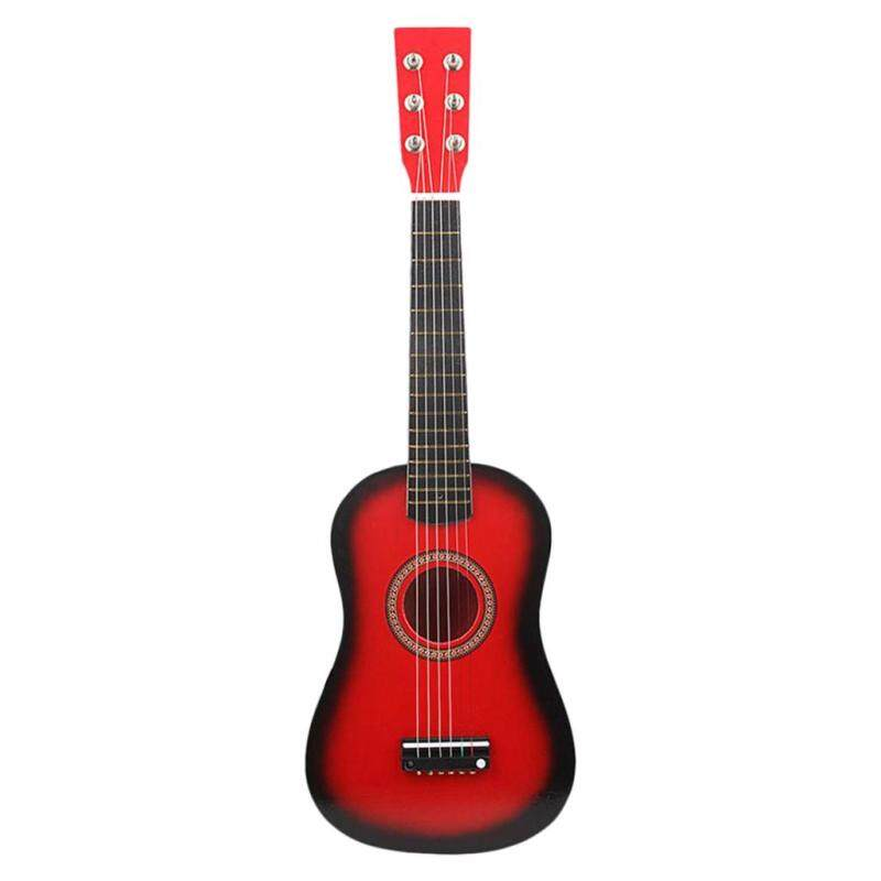 Miracle Shining Mini Acoustic Wooden Guitar Red 23 inch Portable For Kids & Student Beginner Malaysia