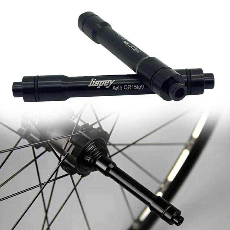 ❥Gracekarin Online Sepeda Gunung Sepeda Gunung Sepeda THRU Axle Adaptor Penghubung 15 Mm 9 Mm Alat