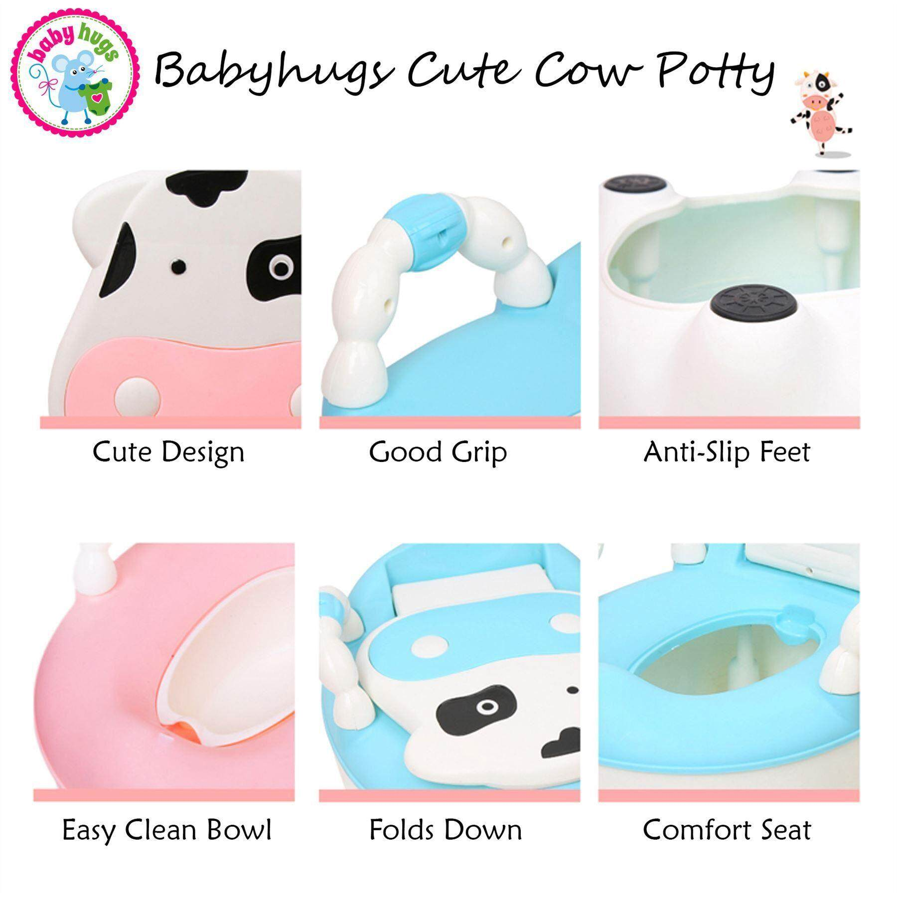 READY STOCK Baby Toilet Bowl Potty Cutie Local Seller