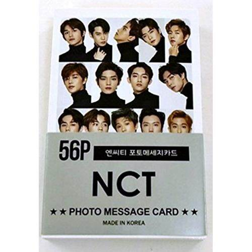 Fan Goods NCT Photocards New Version 56pcs