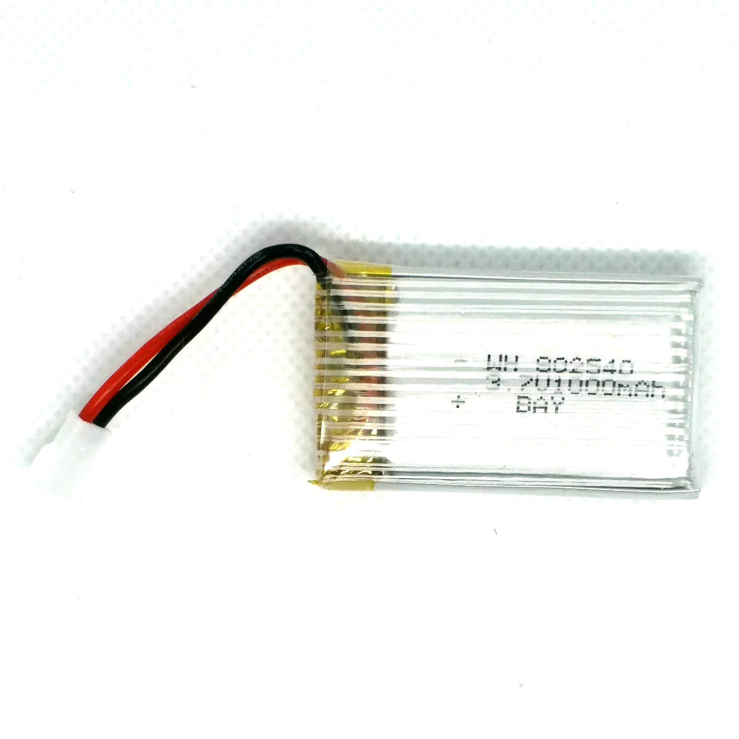 R/c Drones Accessories Li-Poly Battery 3.7v 1000mah + Ort By Toys Shop.