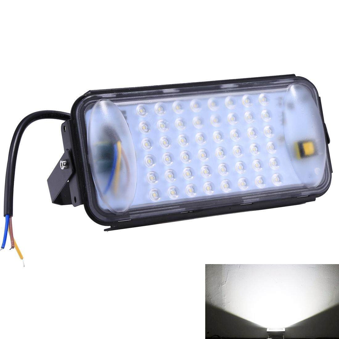 50W 48 LEDs SMD 2835 IP67 Waterproof White Light Ultra-thin LED Flood Light, AC 180-280V - intl