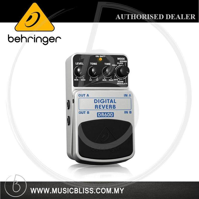 Behringer DR-600 Digital Reverb Guitar Effects Pedal (DR600) Malaysia
