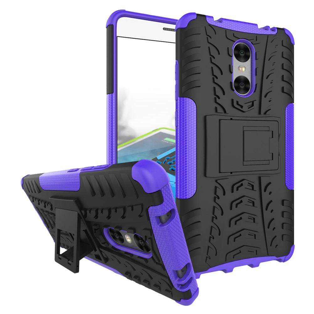 Upaitou Baja Kasus untuk Xiaomi Redmi PRO Sulit TPU Kasar + PC Layar Ganda Protektif Case dengan Kickstand Penutup Belakang untuk Redmi PRO Hybrid Potongan Pas Badan Casing Ponsel