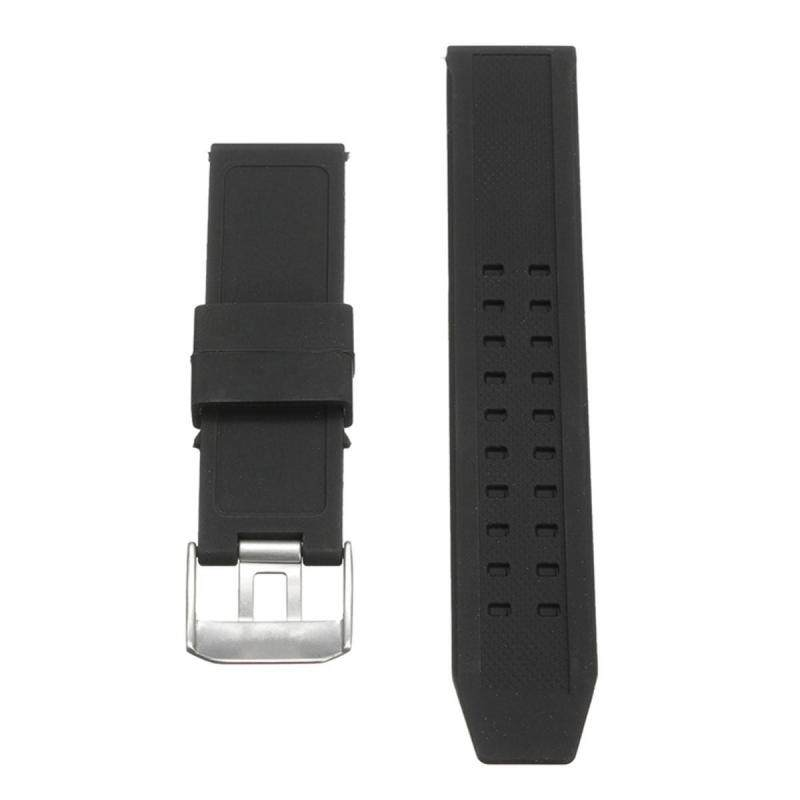 23mm Silicone Rubber Black Watch Band Strap Bracelet For Luminox Replacement Malaysia