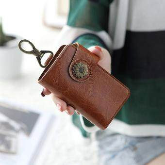 Dompet kunci wanita Korea Selatan Imut multifungsi kepribadian kreatif Mini Mudah Dibawa tas kecil Penyimpanan harga