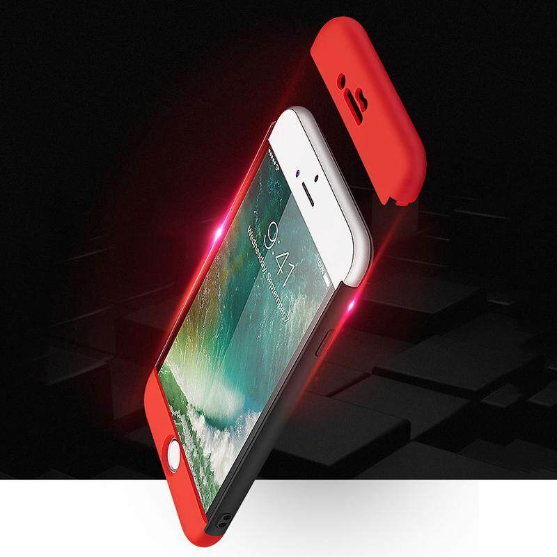 Qearl Shop 360 Full Cover Rear Case Shells Cover Dust Proof Anti Crash For iPhone6 6s