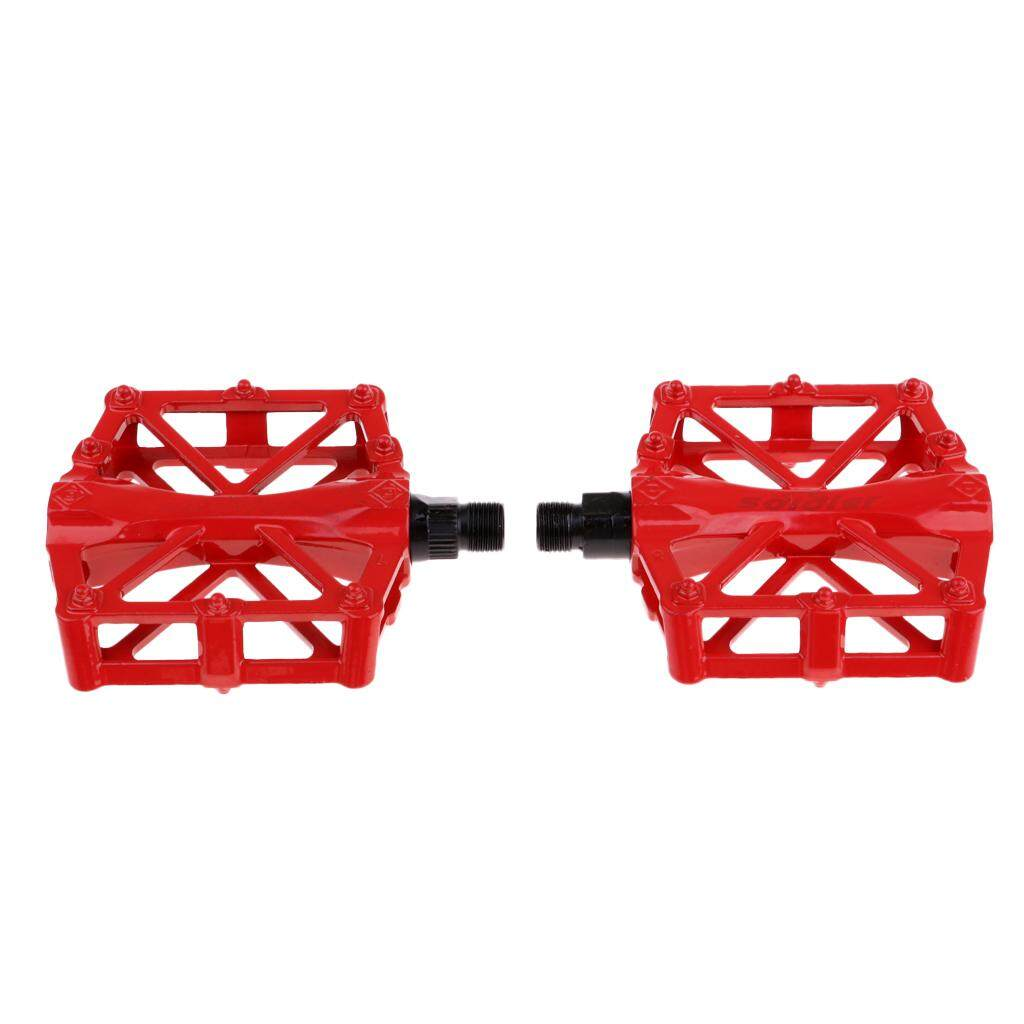 Buy Sell Cheapest Universal Large Bicycle Best Quality Product Horn Sound Klakson Sepeda Miracle Shining 2pcs Mountain Road Bike Pedals Platform Alloy Pedal Red