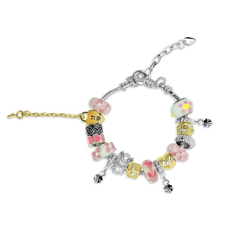 Her Jewellery Roman Charm Bracelet (3 colours)