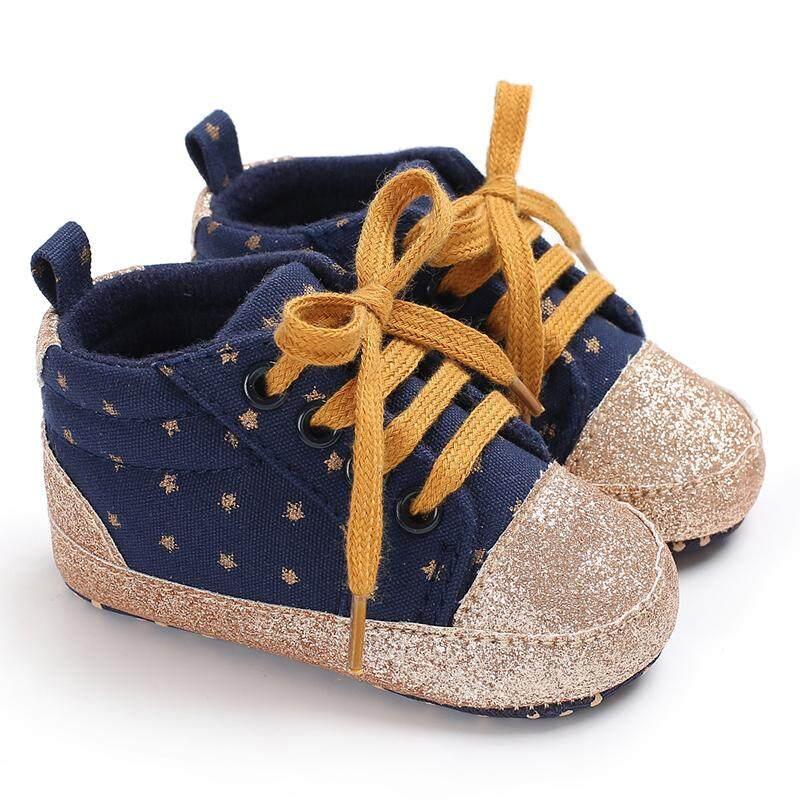 Toko Gila Newborn-18 Bulan Pergelangan Kaki Sepatu Bayi Laki-laki Gadis Slip - 1b779500fa