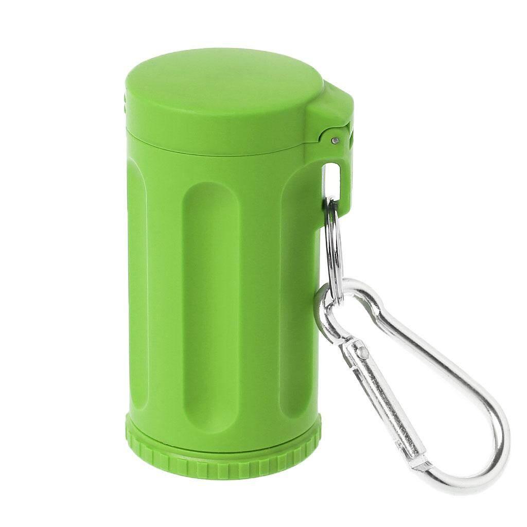 Portable Mini Pocket Lid Ashtray Windproof Key-Chain Outdoor Smoking Accessories By Yiyiya-Baby.