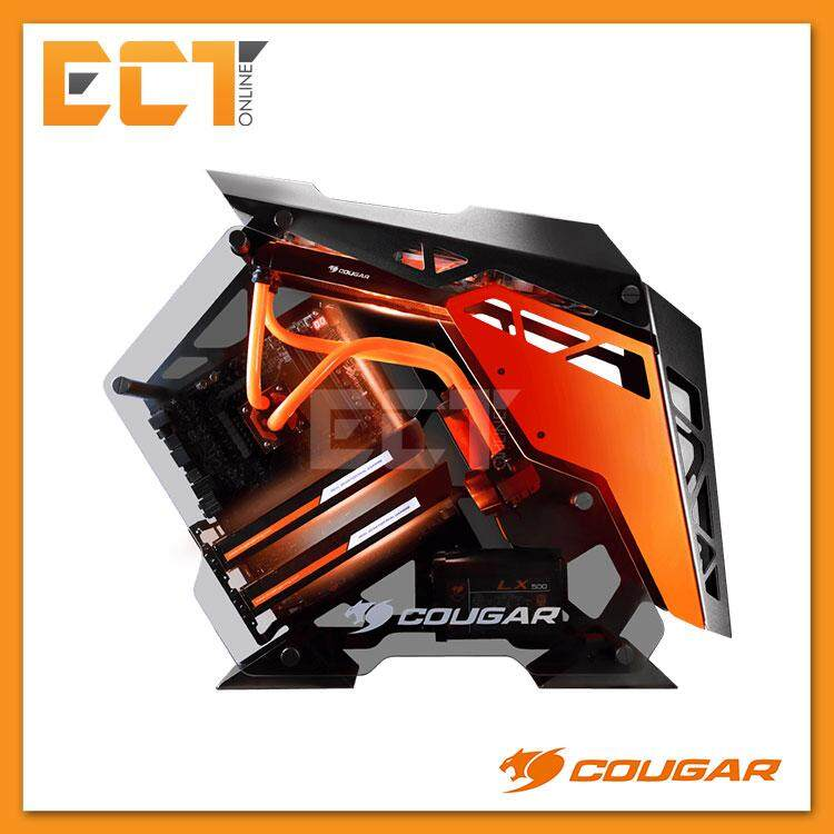 Cougar CONQUER Mid-Tower Tempered Glass Gaming Casing / Chasis Malaysia