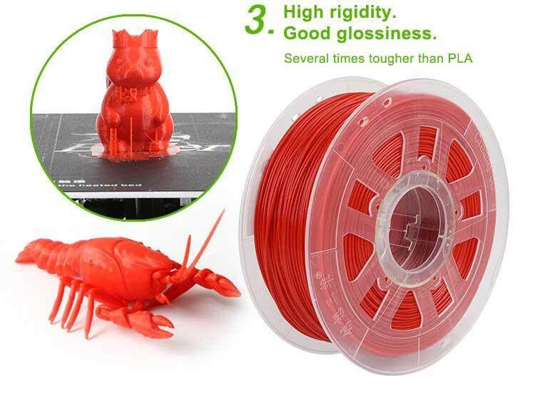 Giá Creality 3D Trắng/Đen/Vàng/Xanh/Đỏ 1Kg 1.75 Mm PLA Dây Tóc Cho 3D Máy In