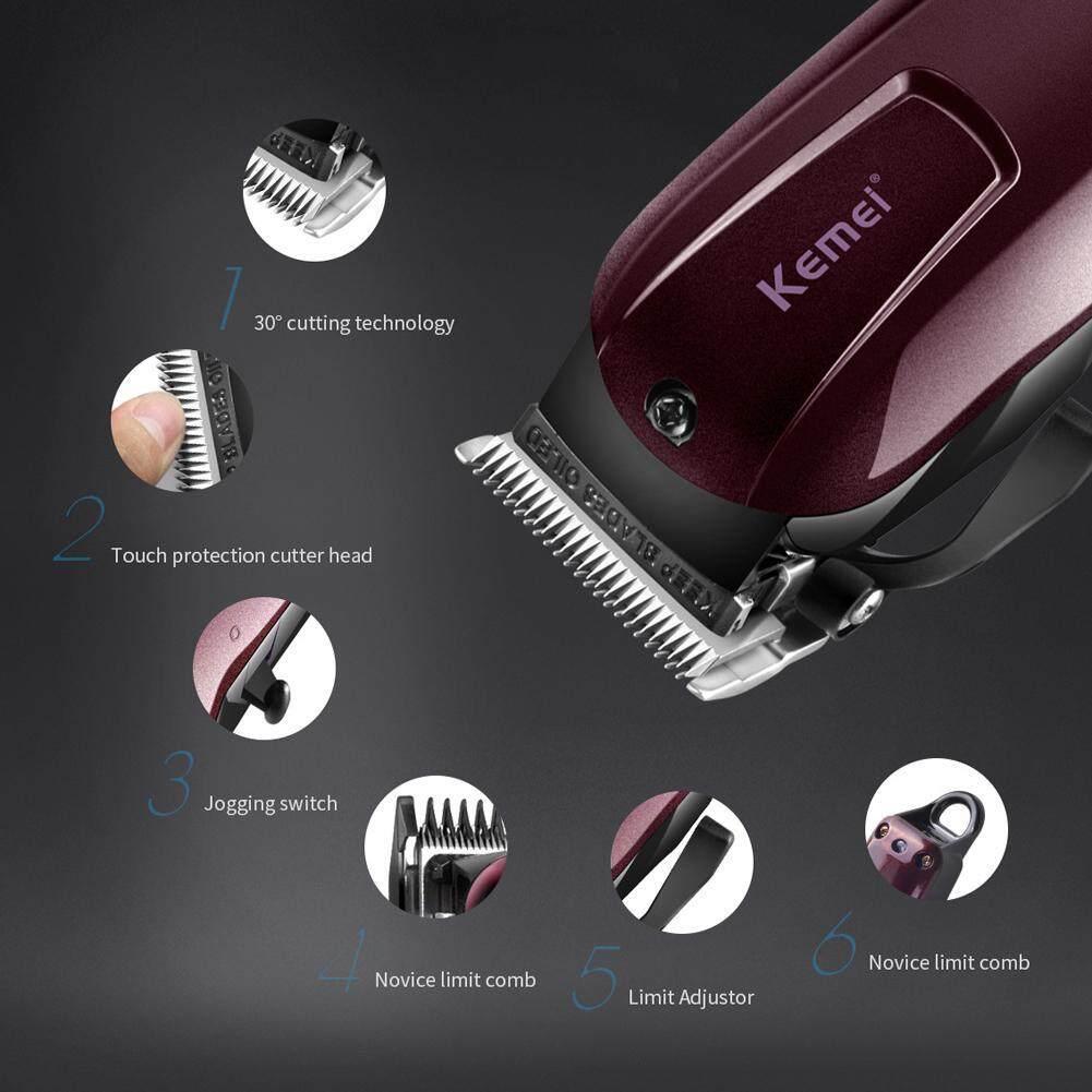 Detail Gambar Kemei KM-2600 Steel Head Hair Clipper Trimmer Rechargeable Hair Remover - intl Terbaru