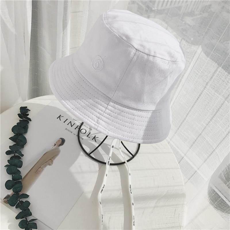 e9d29803ca19f6 Fisherman's hat female spring Harajuku 6 long streamers sunshade hat summer  new Korean soft sister wild
