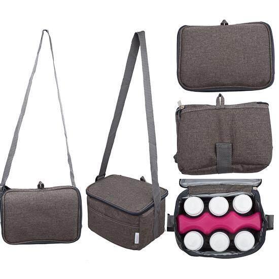 Autumnz - Fun Foldaway Cooler Bag *CANYON BROWN*