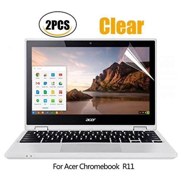 Laptop Screen Protectors (2PCS PACK)Acer Chromebook R 11 Screen Protector HD Clear Anti-Scratch for Acer Chromebook R 11 Convertible 11.6 inch CB5-132T / 2017 Newest Acer Premium R11 Convertible 11.6 inch, 2-Piceces/Pack - intl