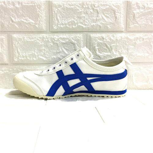 """561a17265613 Asics Official """"ONITSUKA TIGER"""" MEXICO 66 Canvas Lazy White Blue Running  Shoe WOMENS Discounted"""