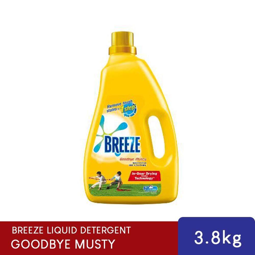 Breeze Goodbye Musty Indoor Drying Liquid Detergent 3.8kg