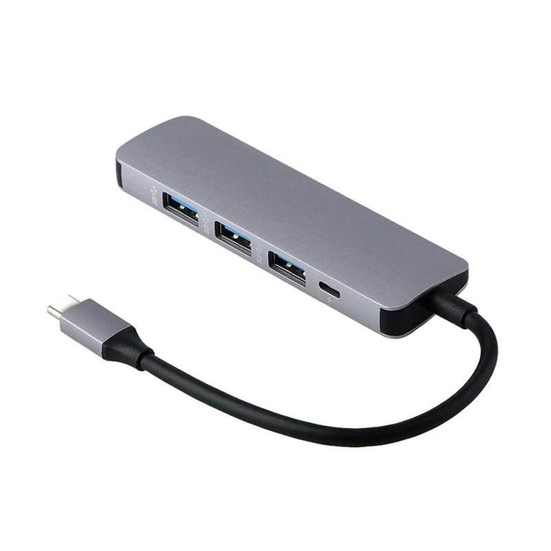 MagiDeal USB C HUb, USB Type C to 4-Port USB 3.0 Hub for MacBook Pro 2016/2017, MacBook Retina 12 2015/2016, ChromeBook Pixel, and More - USB-C to 4-Port USB 3.0 Type A
