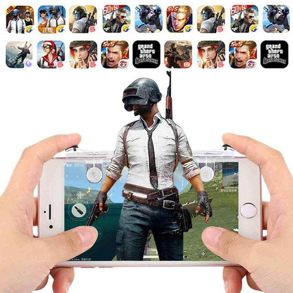 Hình ảnh Versea 2018 New Creative Phone Gamepad Trigger Fire Button Aim Key L1R1 Shooter Controller PUBG FUT1 - intl