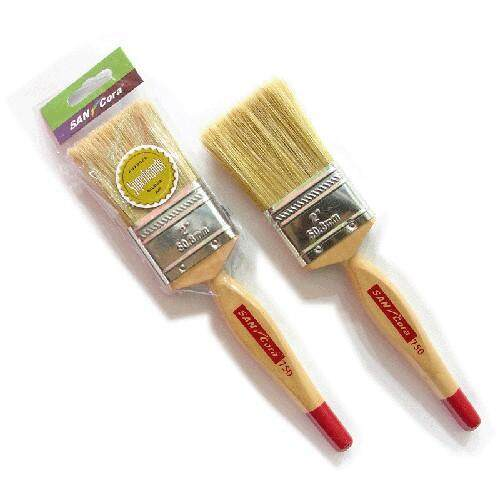 SANCORA WOOD HANDLE SMOOTH HAIR PAINT BRUSH - 750 SERIES