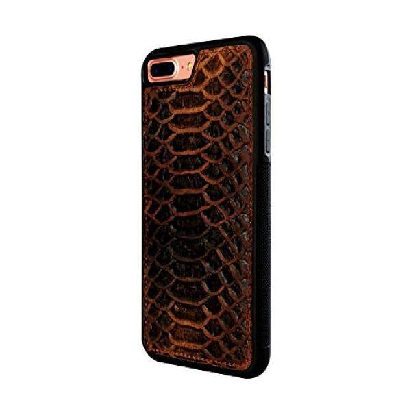 Cell Phones Cases Brightsky Enterprises Leather iPhone 7/8 Plus inten CaseKoras Lightweight Design, Snake Skin Patern - intl