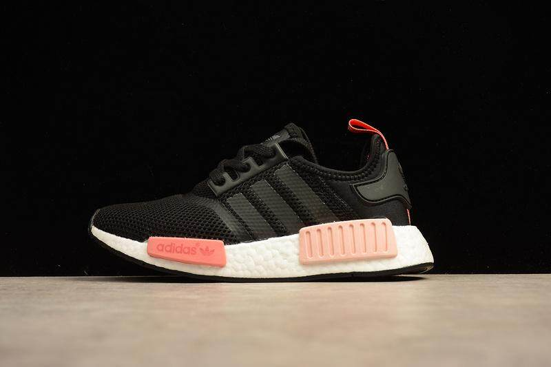 8024c7bb4 Adidas NMD R1 Boost Women s Fashion Casual Sneakers Classic Sports Running  Shoe (Black Pink