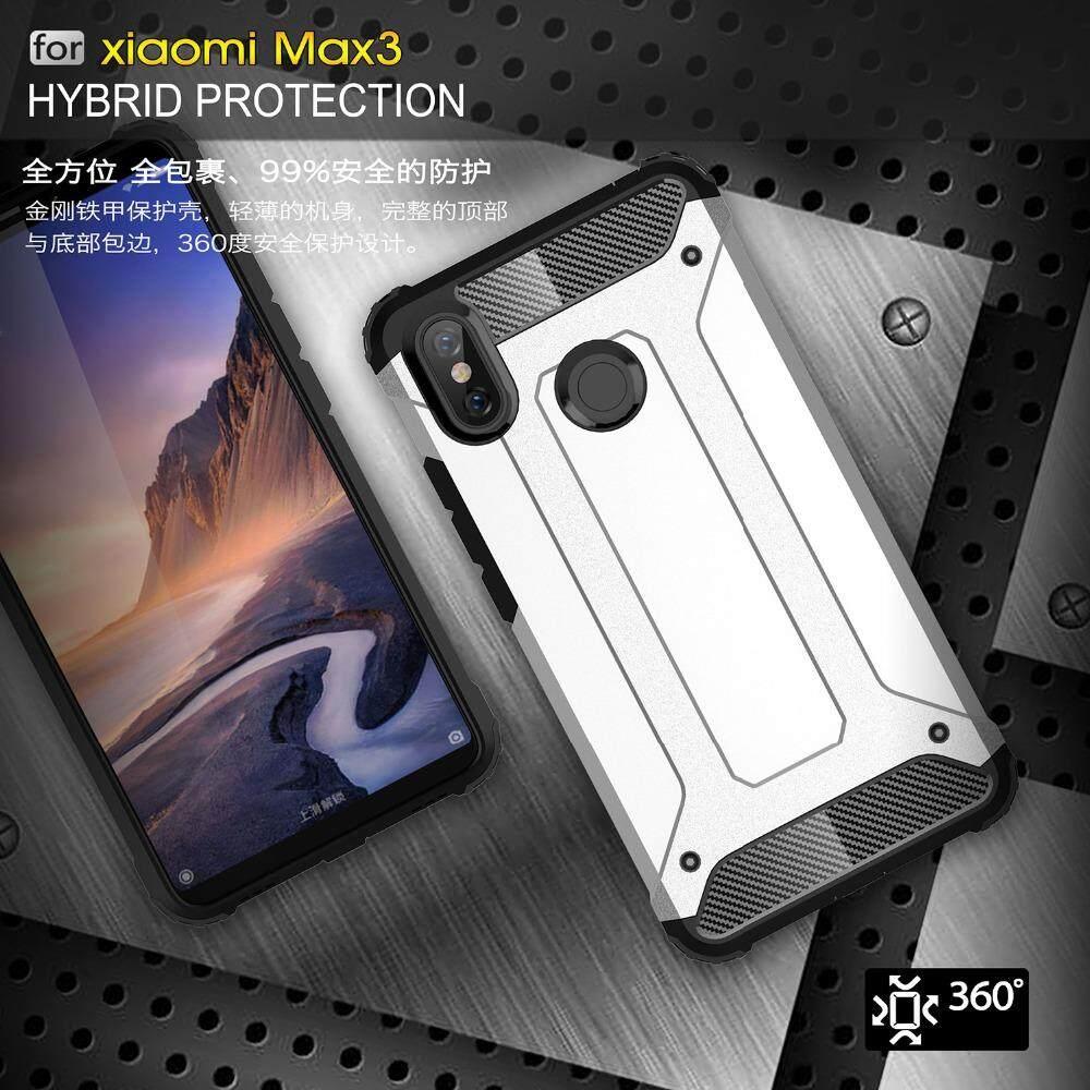 Case For Xiaomi Mi MAX3 Case Shockproof Armor Case Hybrid PC Silicon Cover .