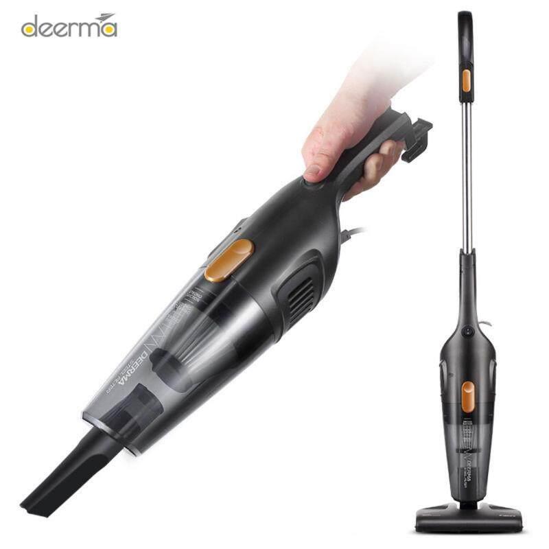 Deerma  High power Modern Power Motor Vacuum Slick design Cleaner Mites Cleaning Portable Stick Vacuum - intl Singapore