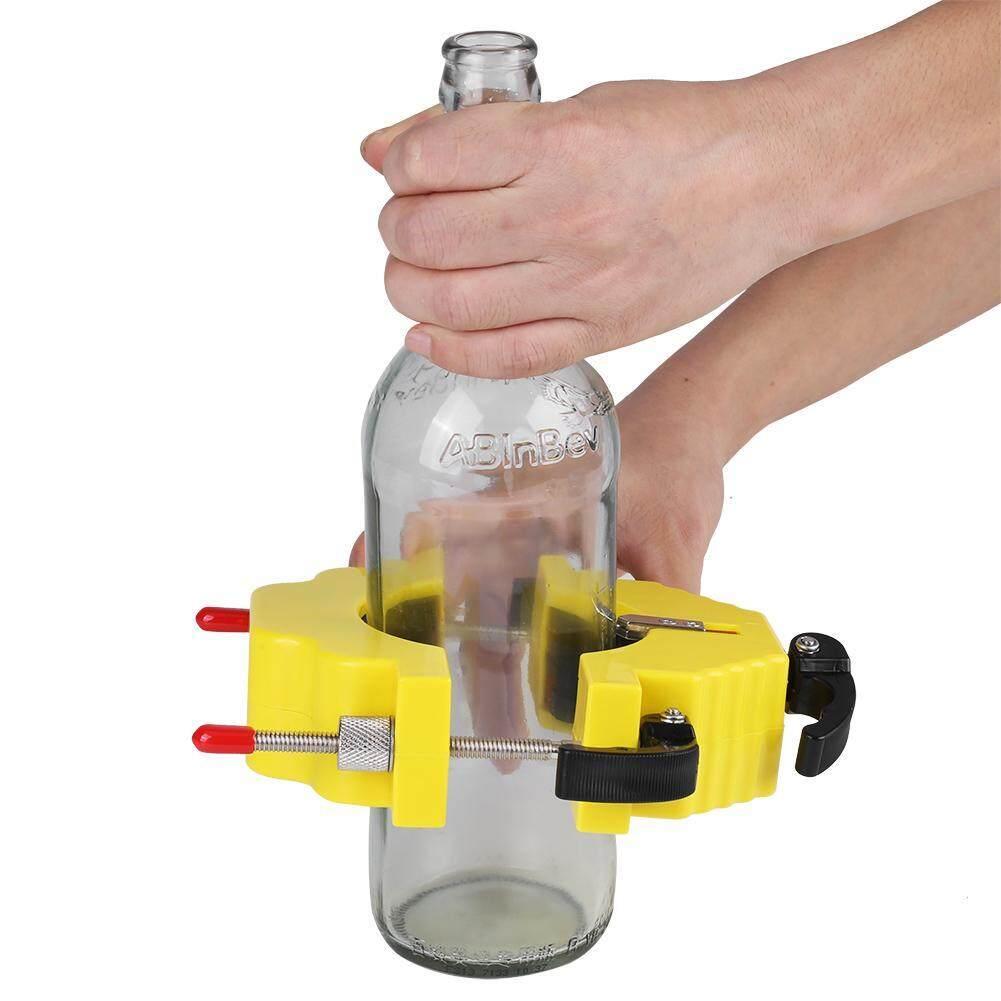 ไวน์เครื่องตัดขวดขวดแก้วเบียร์เครื่องมือตัดสำหรับ Art Craft (สีเหลือง) - Intl.