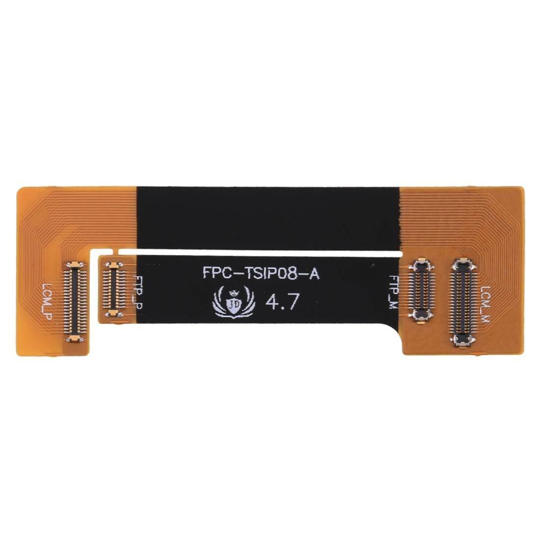 Layar LCD Digitizer Panel Sentuh Ekstensi Pengujian Fleksibel Kabel untuk iPhone 8