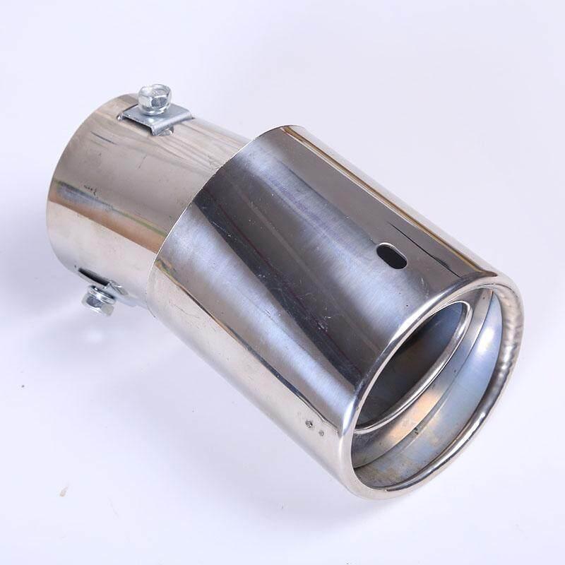 Miryo Baru Perak Krom Mobil Truk Belakang Exhaust Pipa Ekor Muffler Tip Pengangkatan Wajah-Internasional