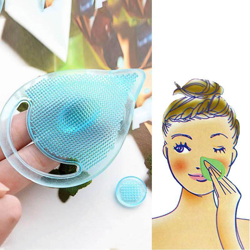 1pcs Silicone Cleaning Pad Cleanser Wash Face Facial Exfoliating Brush SPA Skin Scrub Cleanser Tool Philippines