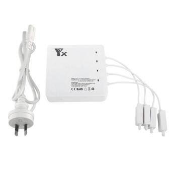 6 In1 Dual USB Ports Intelligent Battery Balance Charger Hub For DJI MAVIC AIR Drone