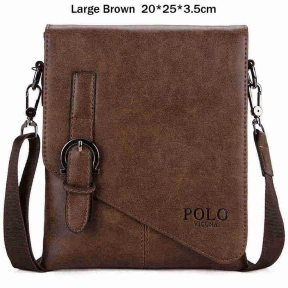 0280baad1b33 Vicuna Polo Burglarproof Buckle Small Mens Crossbody Bag Personality  Oblique Flap Cool Men Messenger Bag Sling