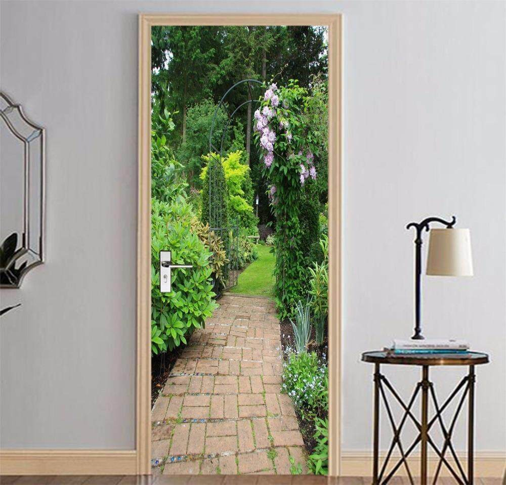 Wall Stickers For Sale Decals Prices Brands Review In Wallpaper Sticker 42 Free Shipping Garden Path Door Diy Mural Bedroom Home Decor Poster Pvc Waterproof