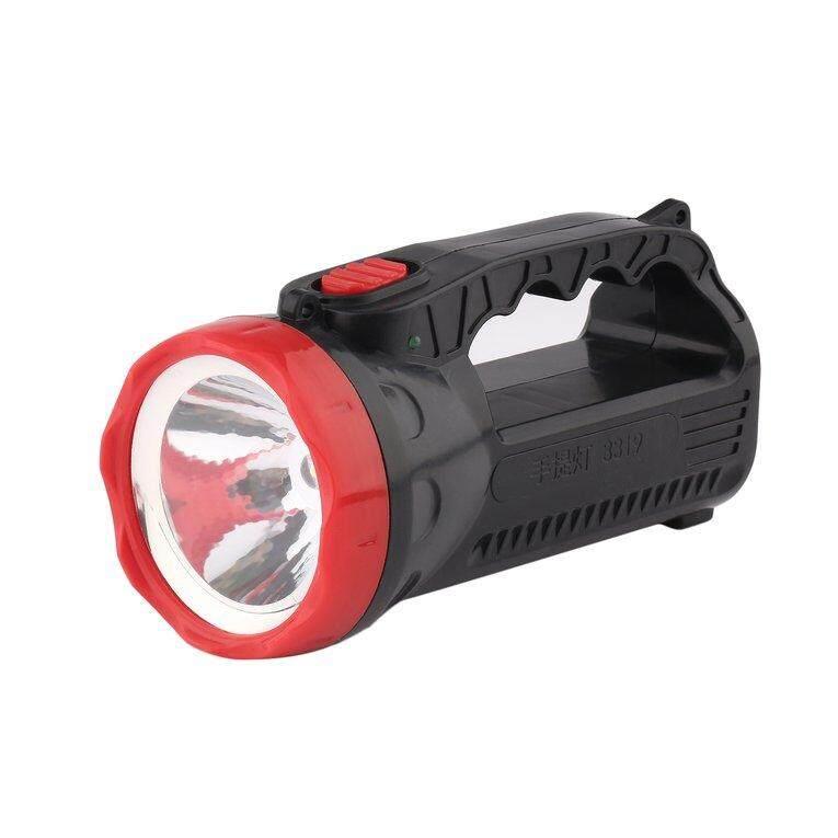 OSMAN Outdoor LED Bright Charging Strong Light Flashlight Torch Light One Lamp Head - intl