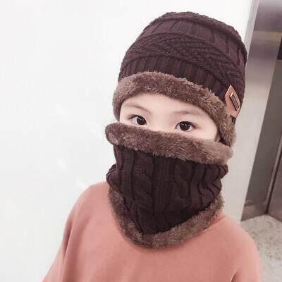 Fancyqube HOT mẹ con 2 cái Mùa Đông siêu ấm Balo len Beanies Nón len và khăn choàng 3-12 năm cô gái tuổi nón bé trai