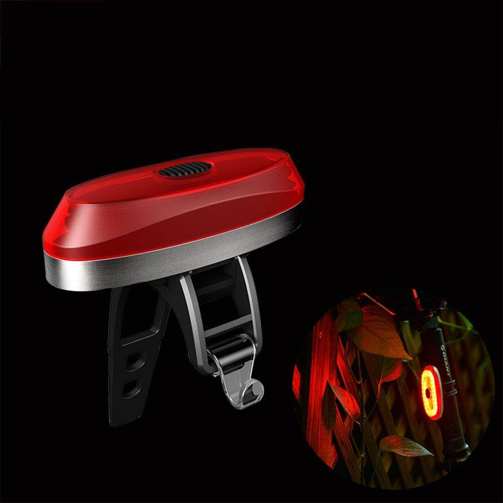 LumiParty Mountain Road Bike Intelligent Sensor SOS Brake Taillight USB Charging Bike lamp