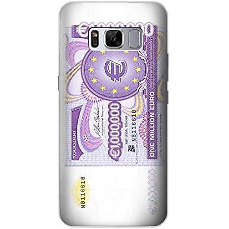 Baru R1665 Satu Juta Euro Catatan Case Sarung untuk Samsung Galaksi S8-Internasional