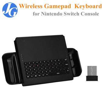 【Clearance Sale】Justgogo 2 4G Wireless Gamepad Keyboard for NTD Switch  Console Game