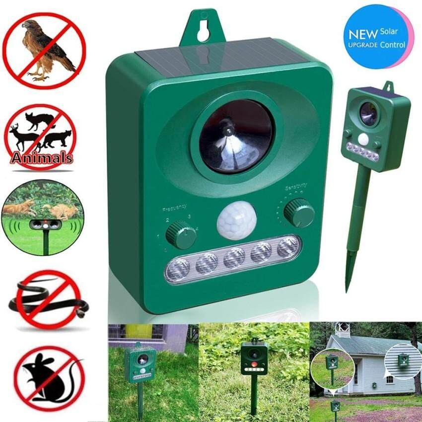 Upgraded Electric Insect Killers,Animal Pest Repellent, Outdoor Solar Electronic Ultrasonic Repeller,Pembunuh Serangga Elek
