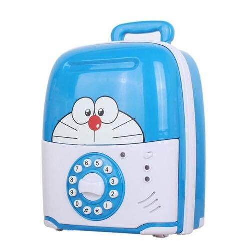 (Doraemon)Multifunctional Trolley Case Mischief Money Saving Box