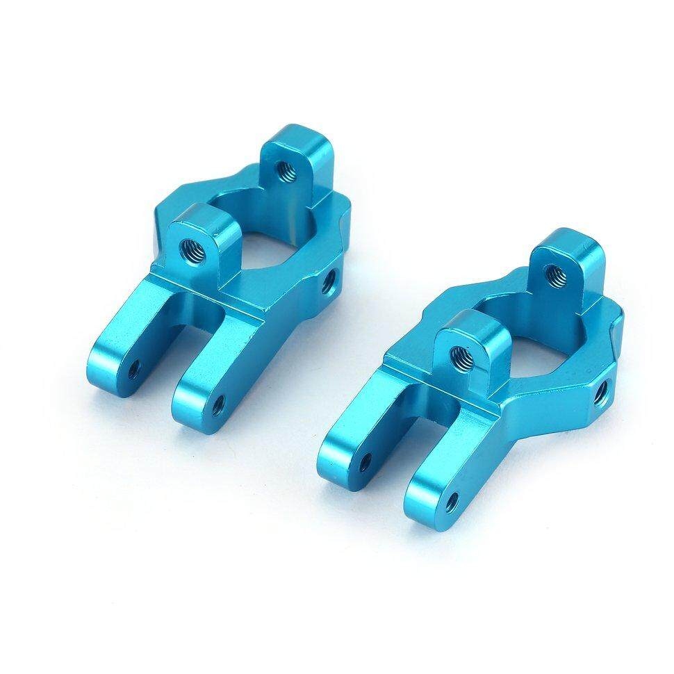 Mini Lightweight RC Car Upgrades Parts CNC Metal Front C Block Axle with Screws for FY