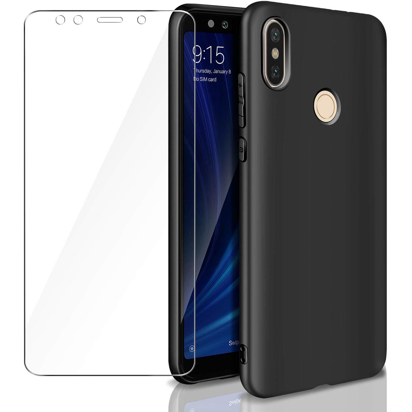 Rymall For Xiaomi Mi A2 (Mi 6X) Casing Soft TPU Silicone Flexible Gel Slim