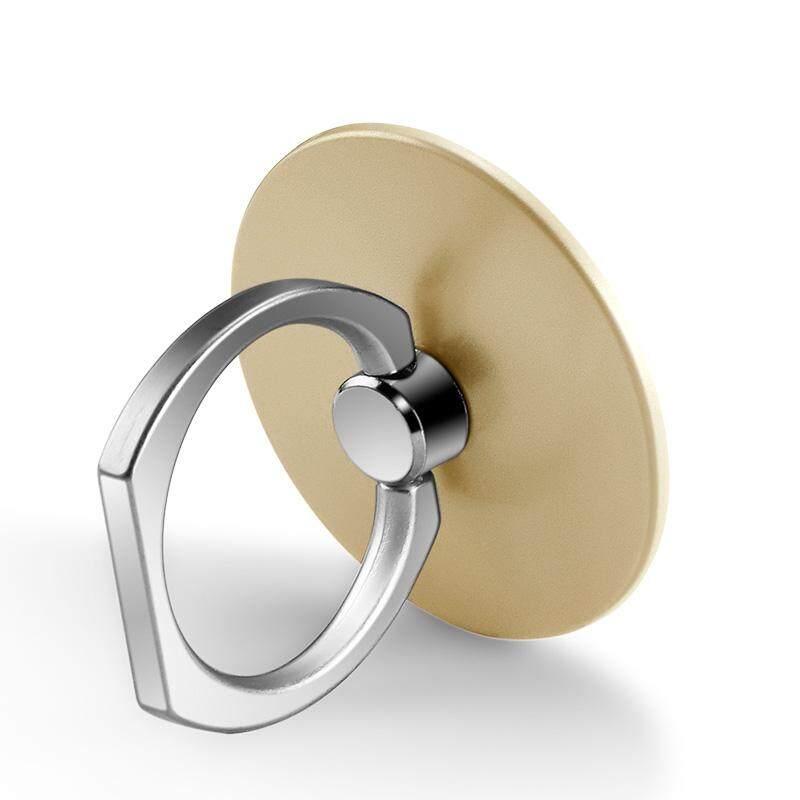 HP braket cicin logam Apple ID Gesper Cincin jari Logam vibrato artefak Model Wanita jari telunjuk